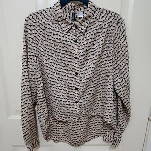 Divided by H&M Animal Print Top